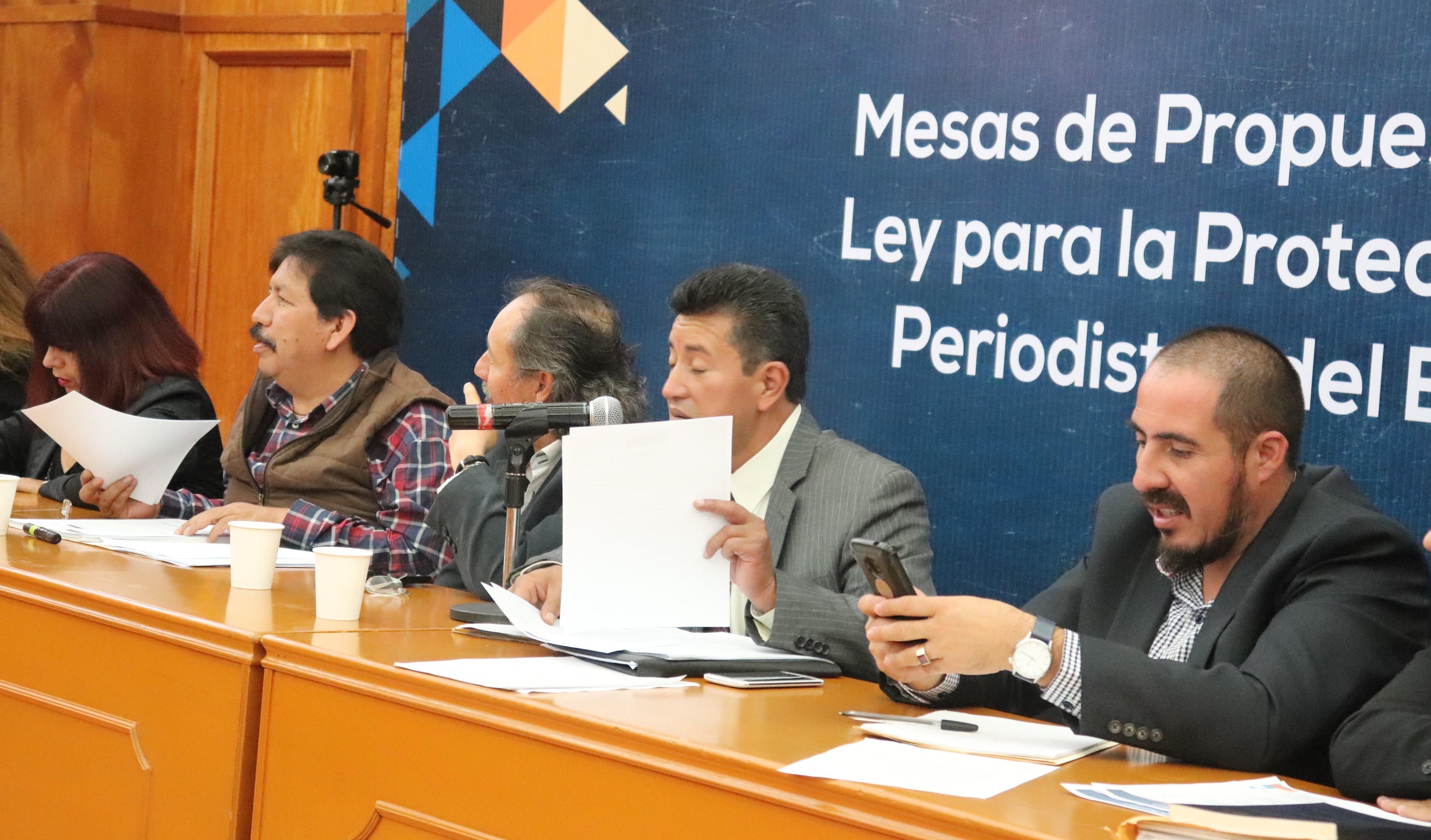 Apuesta Colectivo de Periodistas por una buena ley en #Edomex