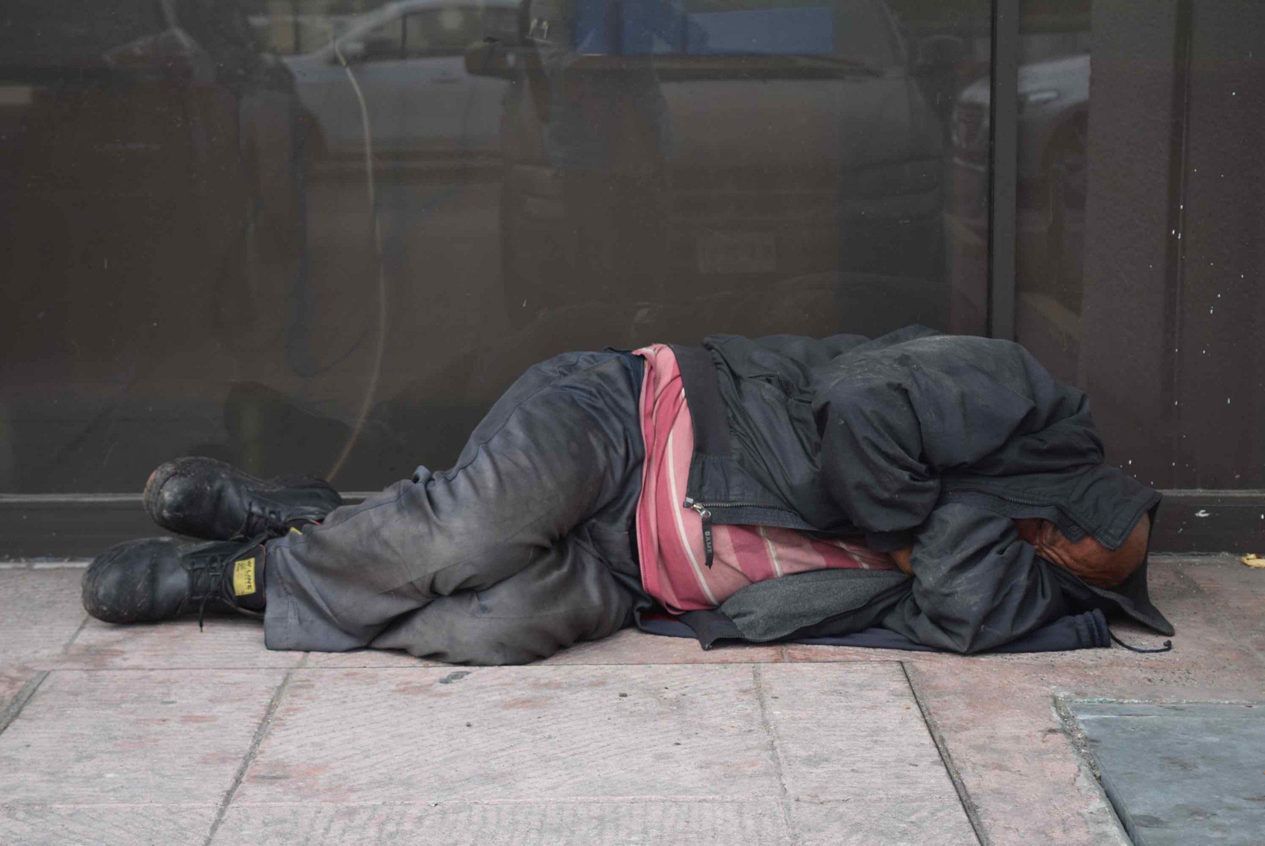 Vivir en la calle… vivir en el olvido