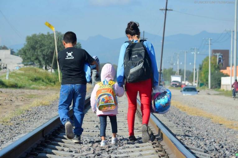 El costo de migrar por México… cuando eres infante