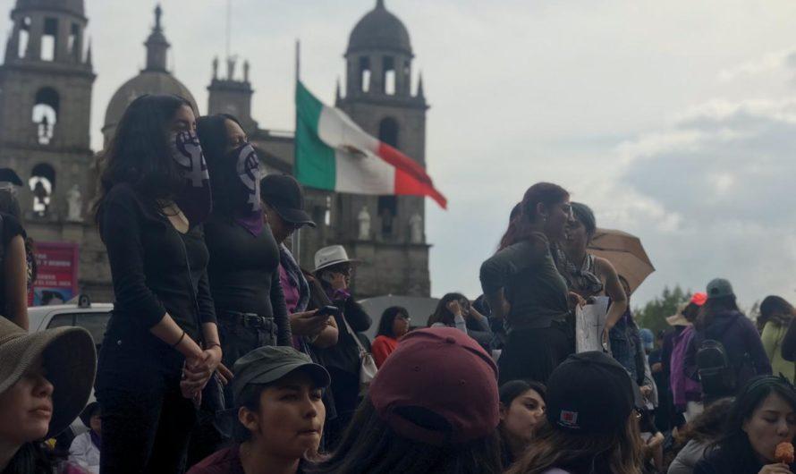 Decenas de mujeres mexiquenses tomaron las calles
