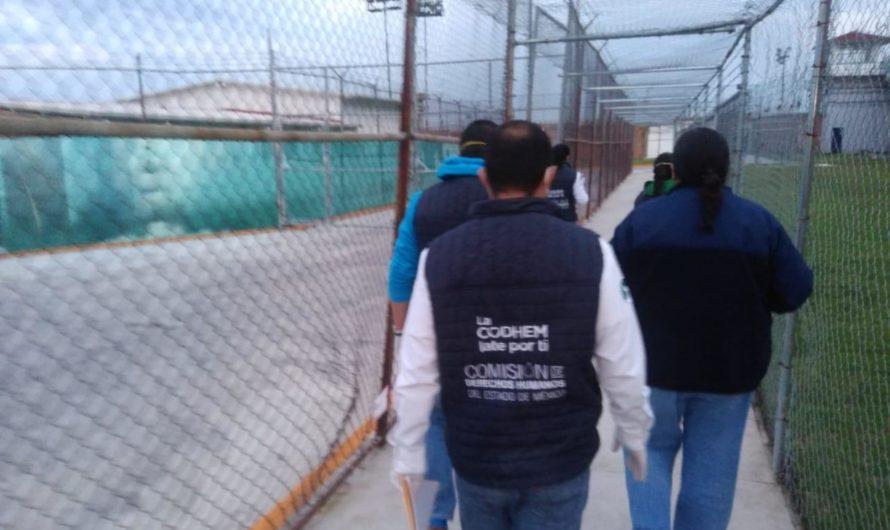 Documentó CODHEM abusos en penal femenil
