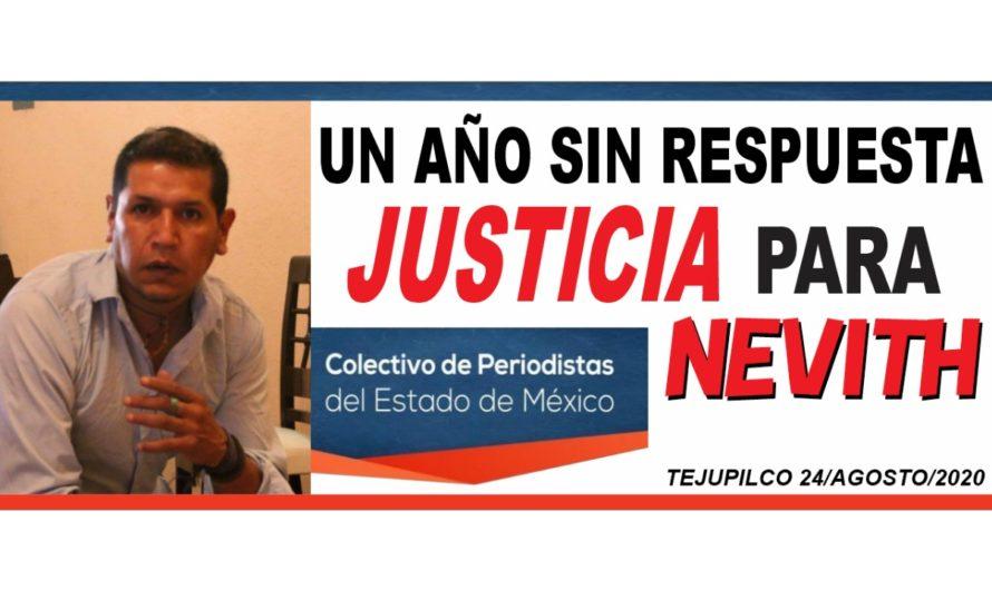 #Unañosinrespuestas #JusticiaparaNevith
