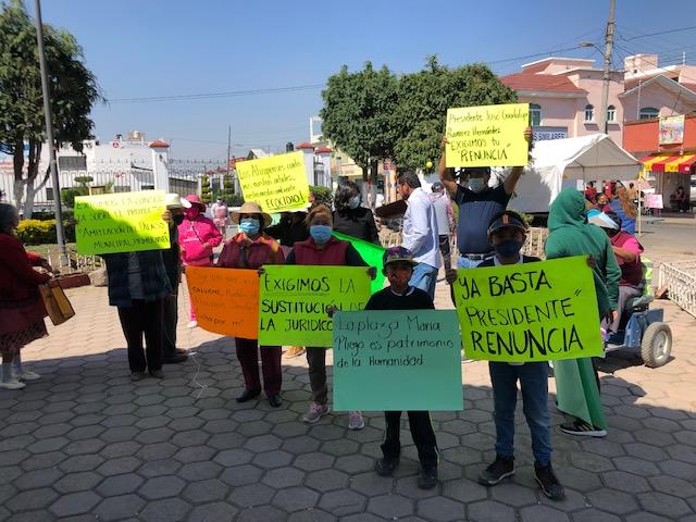 No es ecocidio, dice Ayuntamiento; queremos audiencia, insisten habitantes