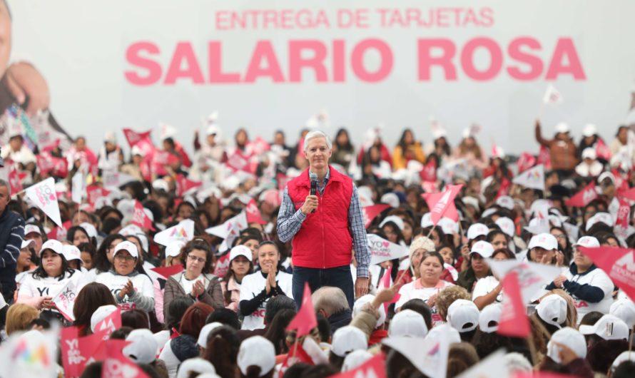 Lo negro del Salario Rosa, la farsa política de Alfredo Del Mazo